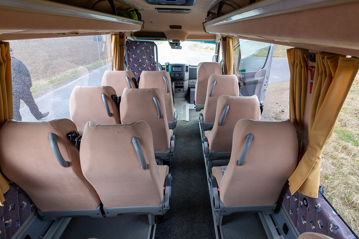 20 kohaline buss. Busside tellimine - Tuuliku Reisid