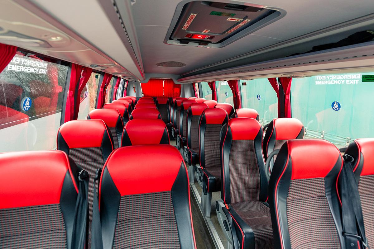 30 kohaline buss. Busside tellimine - Tuuliku Reisid