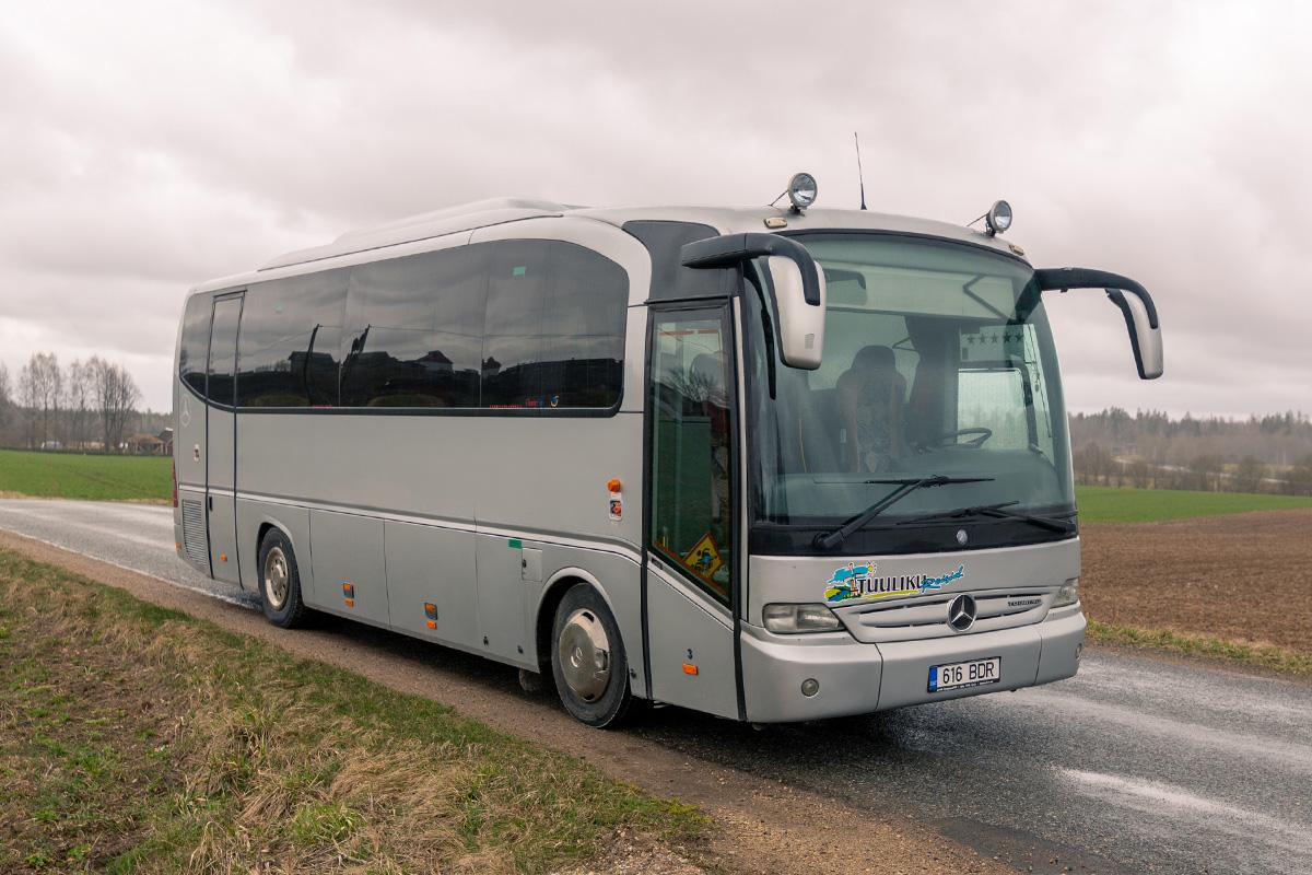 33 kohaline buss. Busside tellimine - Tuuliku Reisid