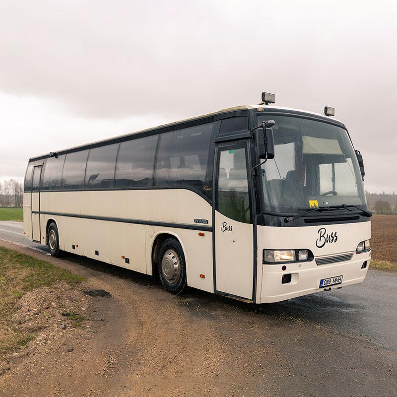50 kohaline buss. Busside tellimine - Tuuliku Reisid